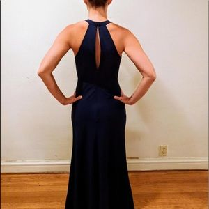 Jenny Yoo Navy Messina Dress Size 0